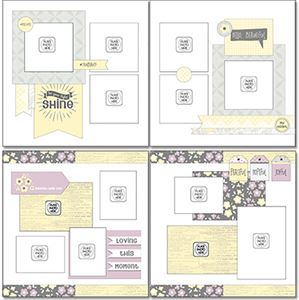 Picture of Whispering Lilac Page Layout Kit